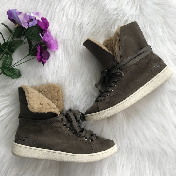 aaa464dfefe UGG Women's Starlyn High Top Sneakers Size 8